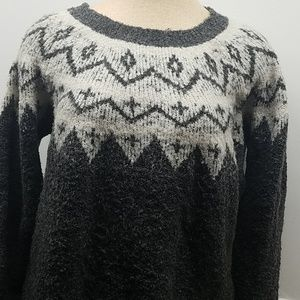 Heavy Warm Gray XL Polyester sweater